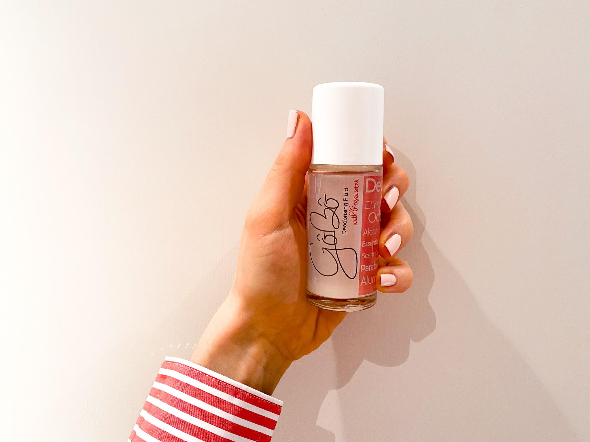 GoBo natural deodorant