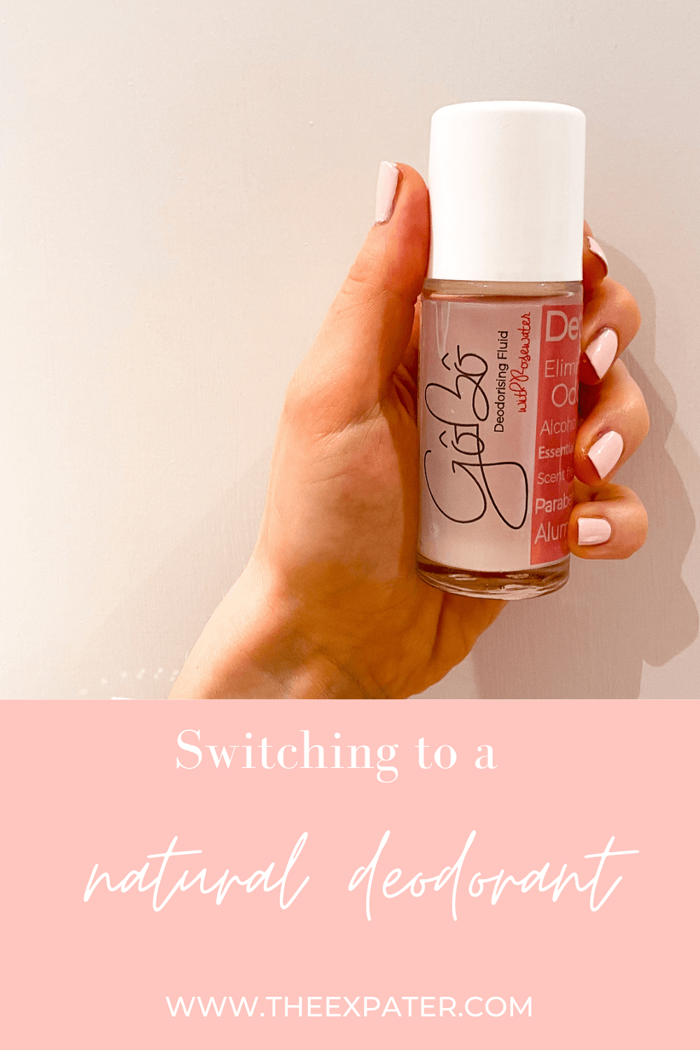 switching to a natural deodorant