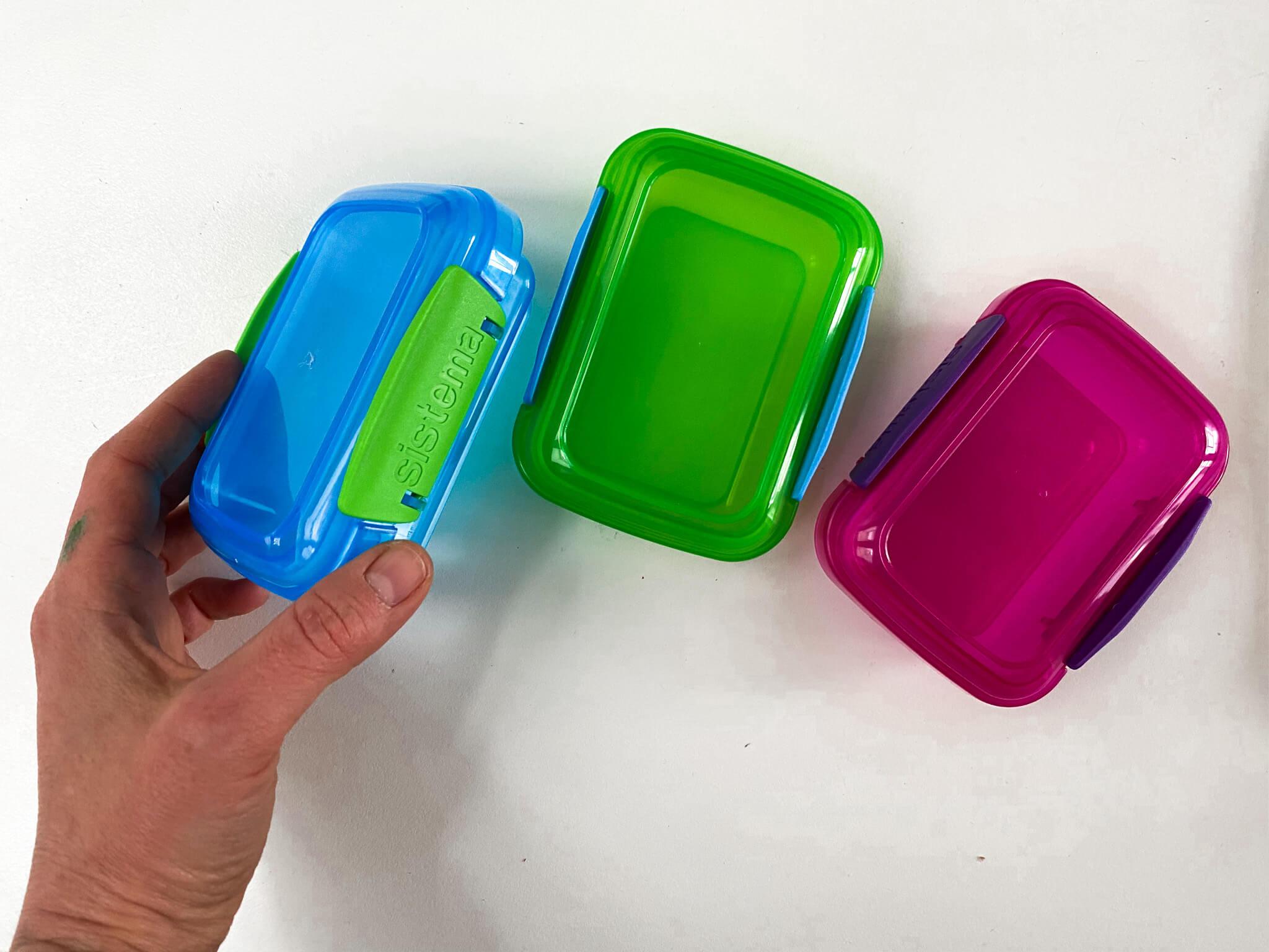 picnic snak pots