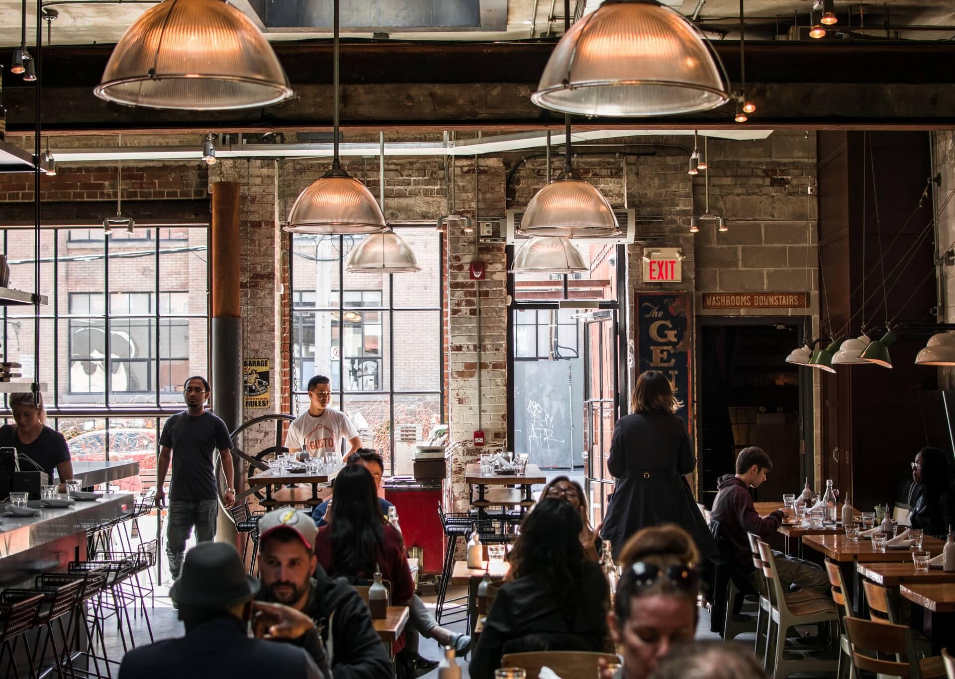 Toronto cafe
