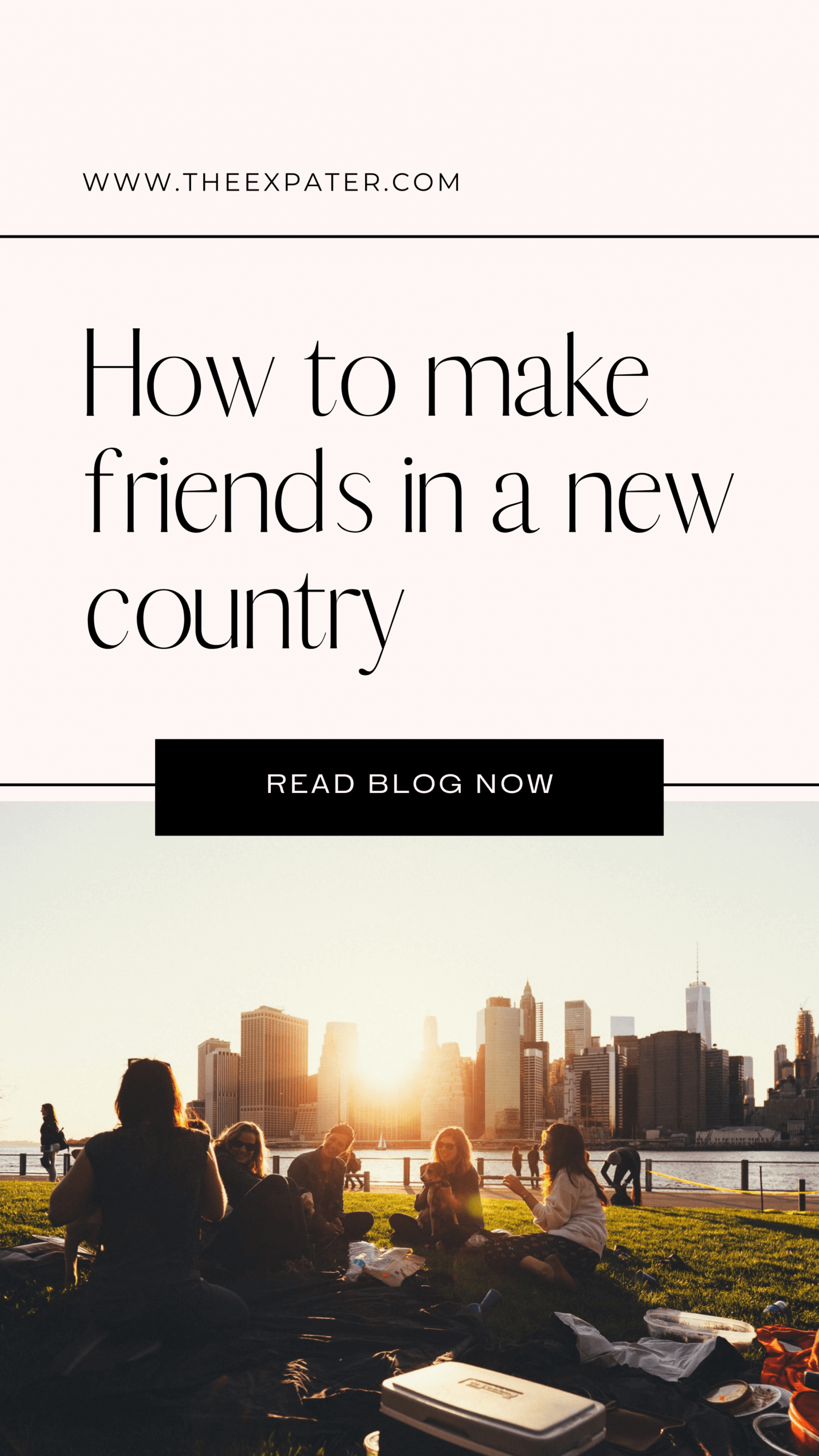 how to make friends in a new country